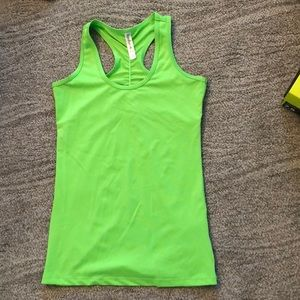Green Active Top. New without tags. Kyodan